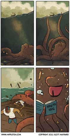 Funny pictures about Lonely Kraken. Oh 6990344d63