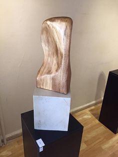 """""""Sağır"""" (2014; Ayous Ağacı Çalışma - 30 cm x 20 cm x 7 cm)"""