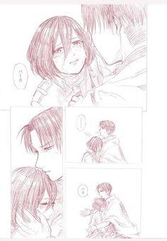 Mikasa and Levi Attack On Titan Ships, Attack On Titan Anime, Levi Ackerman, Ymir, Levi Titan, Levi Mikasa, Aot Characters, Cute Emoji Wallpaper, Rivamika