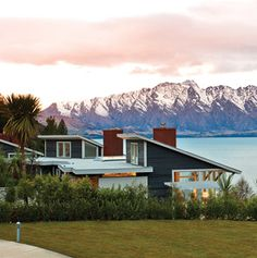 Matakauri Lodge, a beautiful lakeside hotel not to be missed when road tripping across New Zealand's South Island.