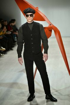 Male Fashion Trends: Klaxon Howl Autumn-Winter 2014 | World Mastercard Toronto Fashion Week