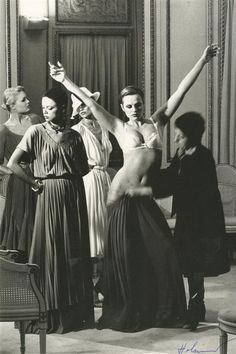 Vogue, 1977 by Helmut Newton
