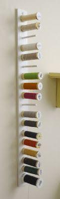 DIY: Organiza los hilos de coser