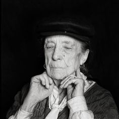 """"""" You are born alone. You die alone. The value of the space in between is trust and love. That is why geometrically speaking the circle is a one. Everything comes to you from the other. You have to be able to reach the other. If not you are alone…"""" Louise Bourgeois, New York, 1996 by Oliver Mark."""