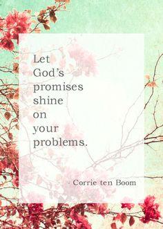 Corrie ten Boom Whatever Is True, Corrie Ten Boom, Let God, Gods Promises, Happy Women, True Words, Christian Quotes, Savior, Relationship