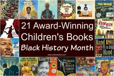 A selection of award-winning children's books for Black History Month, mostly published in the past 5 years, but also including some classics. Ages 5 to Cry Freedom, Youth Programs, School Librarian, Month Colors, Award Winning Books, Reading Rainbow, Activities To Do, Inspirational Videos, Black History Month