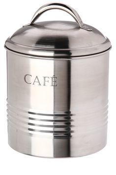 Boîte à café en inox - Tati