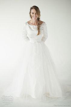 http://www.weddinginspirasi.com/2012/02/14/chaviano-couture-2012-wedding-dresses/ chaviano couture 2012 grace top reese skirt #weddingdress #weddings #wedding #weddinggown #gown