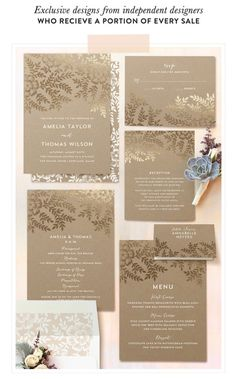 Stunning foil pressed wedding invitations from Minted: http://www.stylemepretty.com/2014/11/06/the-perfect-day-with-minted-a-giveaway/