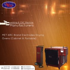 #Welding & CNC Machine Manufacturers  #MET-ARC Brand #Electrodes #Drying #Ovens(#Cabinet & #Portable) #MetWeld