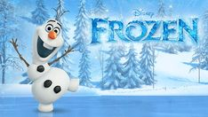 Frozen Olaf - wallpaper.