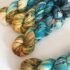 """98 Likes, 7 Comments - Sheena McNeely Madore (@casualfashionqueen) on Instagram: """"My yarn from the #fineyarnconnoisseurs weekly dyealong which I don't always participate in but I…"""""""