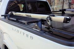 Come Visit our Rack Attack Location in Vaughan. Not only do we have the best prices in town, our staff are the nation's top roof rack experts. Ford Trucks, Pickup Trucks, Ford F150 Custom, Truck Bike Rack, Pick Up, Truck Bed Rails, Toyota Tundra, Toyota Tacoma, Truck Bed Covers