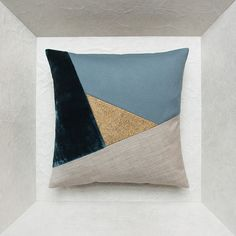 Exceptional design and decorative cushions conceived as artists' paintings and edited in small limited series by Maison Popineau in Paris.