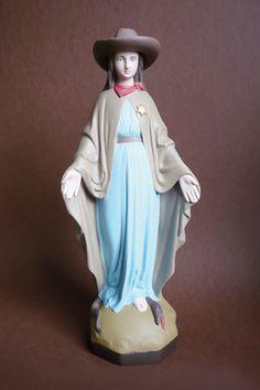 Soasig Chamaillard Virgin Mary Pop Art   The Mary Sue