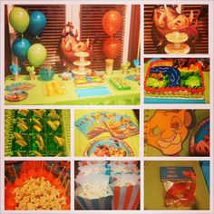 Lion King Birthday Party.