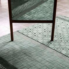 Nanimarquina Jie Rug - 2Modern Hand Tufted Rugs, Tile Patterns, Rugs, Interior, Neri And Hu, Contemporary Rug, Green Interior Design, Green Interiors, 2modern