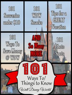 101 Ways to Walt Disney World Lists...
