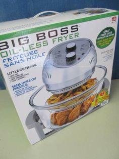 shopgoodwill.com: Big Boss Oil-Less Fryer