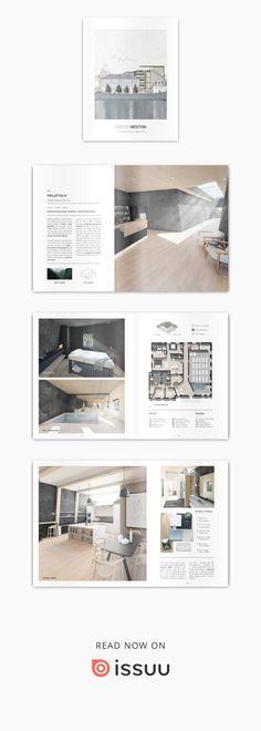 Interior Design Issues, Interior Design Layout, Interior Design Portfolios, Layout Design, Presentation Board Design, Interior Design Presentation, Portfolio Presentation, Portfolio Design Layouts, Booklet Design