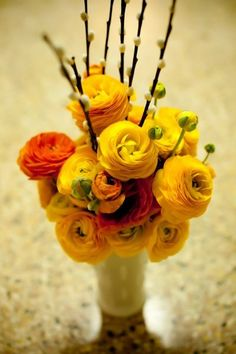 ranunculus and willow