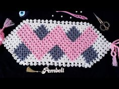 Disposable Face Mask with Earloop, Breathable and Comfortable for Personal Care Protection Masks) Odd Molly, Hairstyle Trends, Crochet Towel, Baby Knitting Patterns, Crochet Flowers, Diy And Crafts, Crochet Earrings, Make It Yourself, Youtube