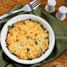 Easy Brussels Sprouts Gratin with Swiss and Parmesan [found on KalynsKitchen.com]