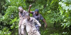 Tyrese Walking Dead | The scene was a throw away to a scene from Comic #15 when Tyreese is ...