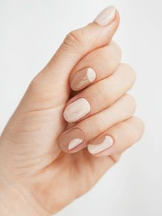 Check out these Coffee Inspired Nails for National Coffee Day - - I came across these fun coffee inspired nails and wanted to share them with you in case you're inspired to try something new. Chic Nails, Stylish Nails, Trendy Nails, Subtle Nails, Neutral Nails, Beige Nail Art, Beige Nails, Art Beauté, Impress Nails
