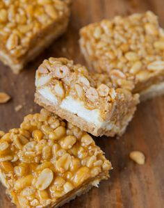 Peanut Chewy Payday Bars from @Averie Sunshine {Averie Cooks}