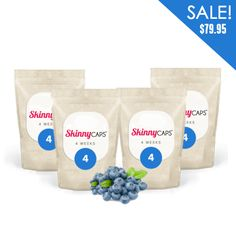 Featuring our Blueberry Flavor! Get a four-week supply of our delicious Skinny CAPS™ Detox for only $79.95 with FREE WORLDWIDE SHIPPING! 60 caps (20 raspberry caps, 20 blueberry caps and 20 citrus caps). Also available in one-week supply (15 caps) and two-week supply (30 caps)! http://www.skinnycaps.com.au/shop/4-week-supply-detail.html