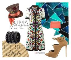 """Jet Set Style With DJ Mia Moretti & The RealReal: Contest Entry"" by tricia-cand ❤ liked on Polyvore featuring art"