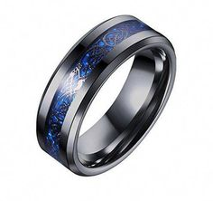 Engagement & Wedding Sensible Titanium Ridged Edge 14k Yellow Inlay 8mm Brushed/ Wedding Ring Band Size 10.50 Carefully Selected Materials Bridal & Wedding Party Jewelry