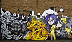 Oxford Road Graffiti - Manchester