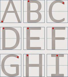 direccionalitat lletres i numeros
