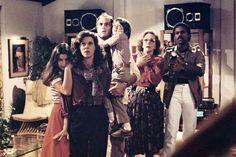 "On the set of the movie ""Poltergeist"" (1982)."