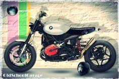 BMW # MOTORCYCLES SPECIAL # BMW MYSTIC # STREET TRACKER # OLD SCHOOL GARAGE - TRIESTE