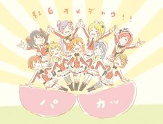 Muse forever  Love live school idol project