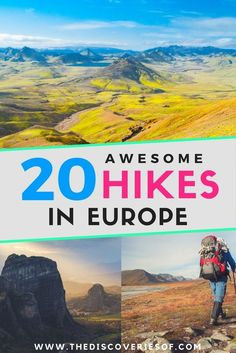 20 mindblowing hikes in Europe that you need to add to your travel bucket list. Love adventure? Love hiking? This guide is for you. Read now.