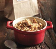 Homemade apple cinnamon instant oatmeal recipe