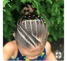 Today I bring you this Beautiful Hairstyle inspired by the talented Hilde Swipe for more views ➡️➡️➡️😊😊 Hoy les traigo Este… Lil Girl Hairstyles, Kids Braided Hairstyles, Princess Hairstyles, Pretty Hairstyles, Hairstyle Braid, Braid Out, Girl Hair Dos, Toddler Hair, Love Hair
