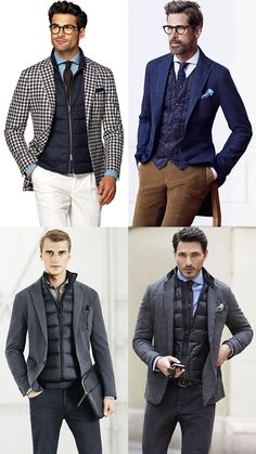 how to wear a gilet with tailoring