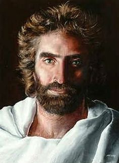"""""""Prince of Peace"""", by Akiane Kramarik. She painted this at the age of 8 years, after seeing the face of God. This is the real face of Jesus."""