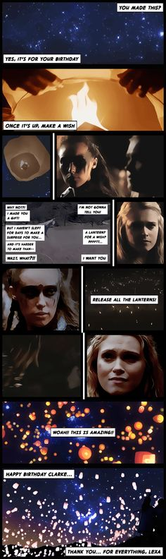 Clarke & Lexa #clexa ok this is actualy clexa but i'm just crying of cuteness!