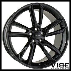 """22"""" ACE SCORPIO BLACK CONCAVE WHEELS RIMS FITS RANGE ROVER EVOQUE #Ace #scorpio #Wheels #rangerover #evoque"""