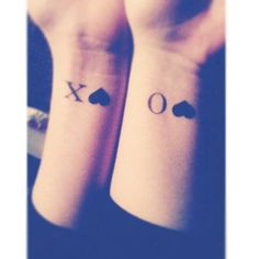 awesome Friend Tattoos - Pin for Later: 55 Creative Tattoos You'll Want to Get With Your Best Friend ... Check more at http://tattooviral.com/friend-tattoos/friend-tattoos-pin-for-later-55-creative-tattoos-youll-want-to-get-with-your-best-friend-5/