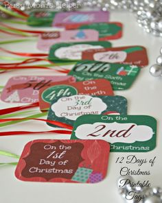 12 days tags