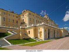 Palais Constantin - Façade sur le Parc - Strelna