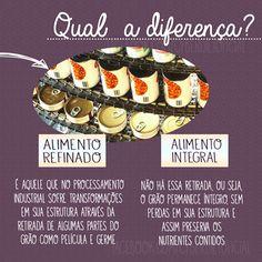 Clique na imagem e conheça mais sobre os alimentos integrais