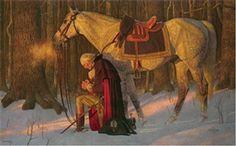 George Washington's Prayer at Valley Forge